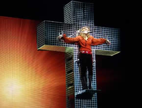 Madonna on Cross