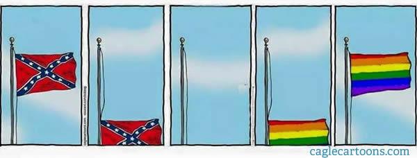 White House Rainbow 2015