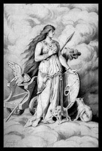 Freyja Norse Godedess